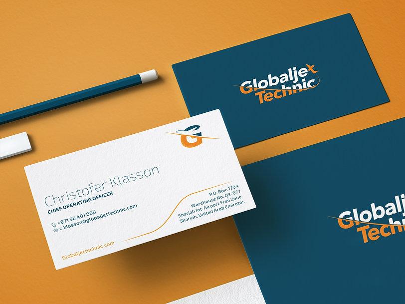Logo design for Globaljet Technic Dubai