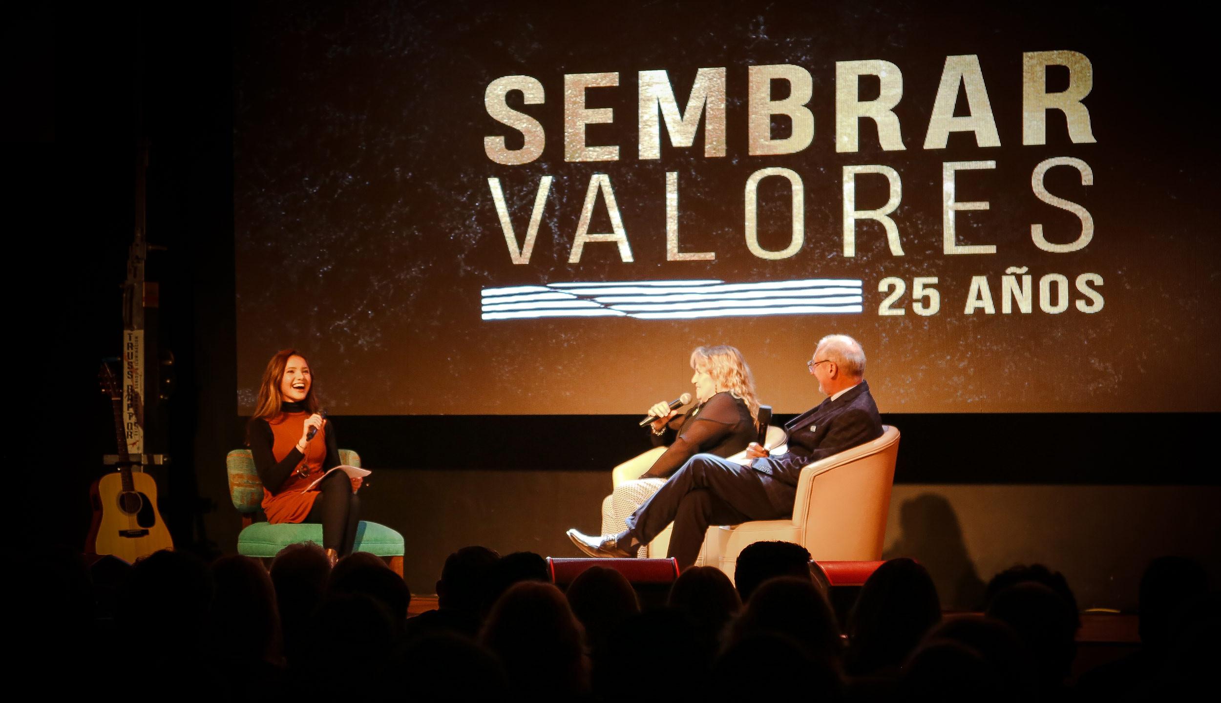 25 años Sembrar Valores en TV