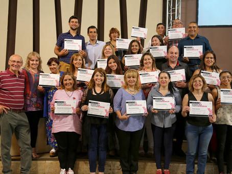 Luminares presenta 24 nuevos Operadores Socio Terapeutas en Adicciones.