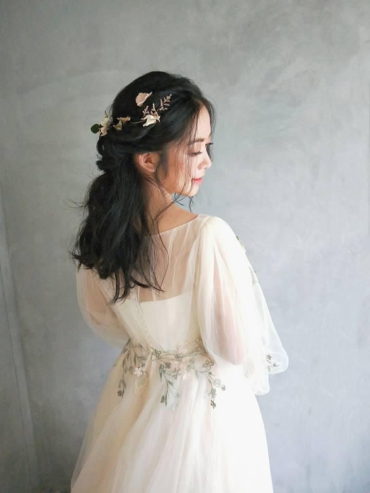 婚禮長髮造型
