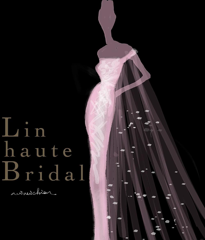 Lin haute bridal 訂製禮服
