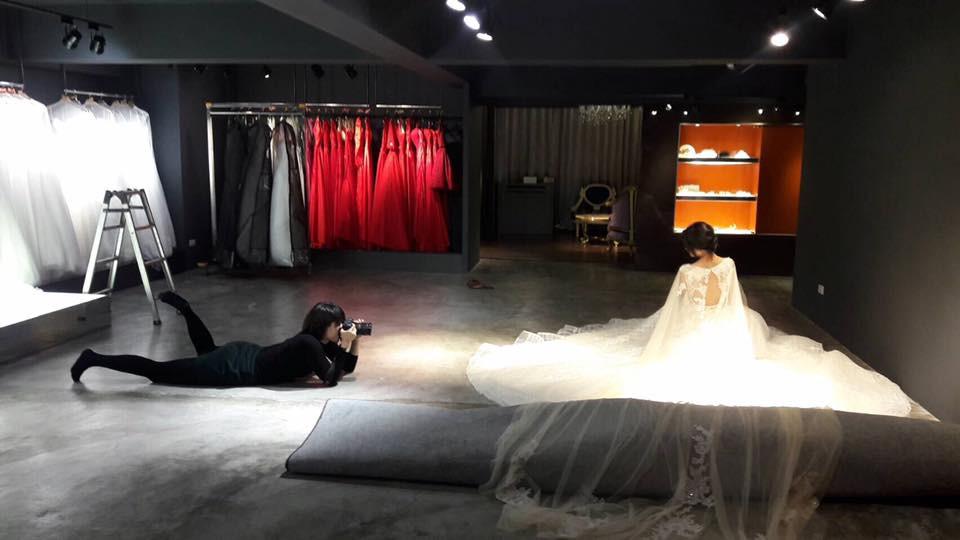 Lin haute bridal 婚紗禮服 高級訂製服