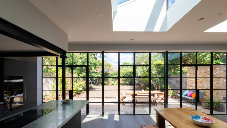 Industrial Style Extension and Refurbishment in Kew