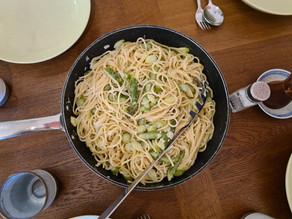 Spargel-Spaghetti