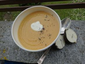 Winterrettich-Suppe