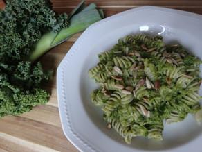 Winter-Pesto mit Lauch und Federkohl