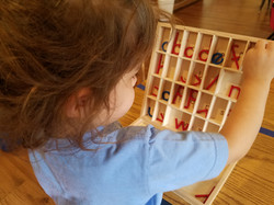 movable alphabet with kassie