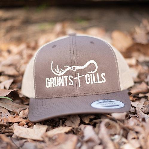 Brown/Tan Hat