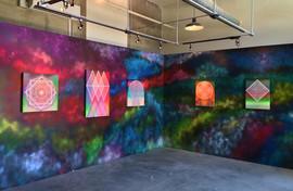 'Crystal Crown, Crystal Throne' installation