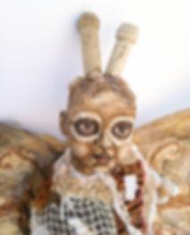 Moth Girl (detail) Clarissa Callesen