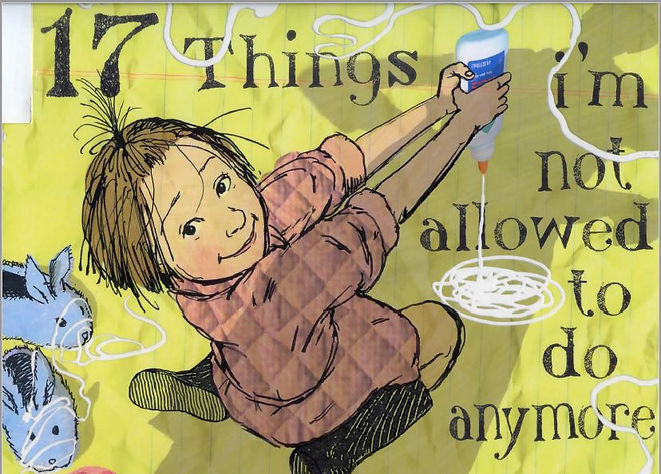 17 Things I'm not allowed to do anymore_Cover Page_ by Jenny Offill.JPG