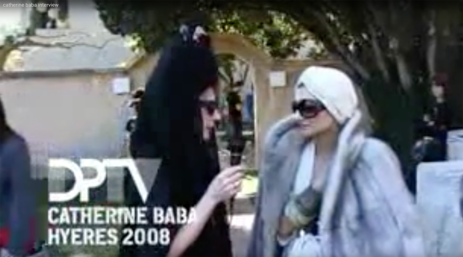 DP TV NVU WITH CATHERINE BABA  2008