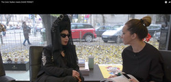 THE COLOR STALKER MEETS DIANE PERNET