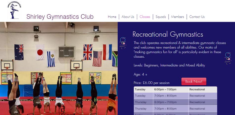 www.shirleygymnasticsclub.com