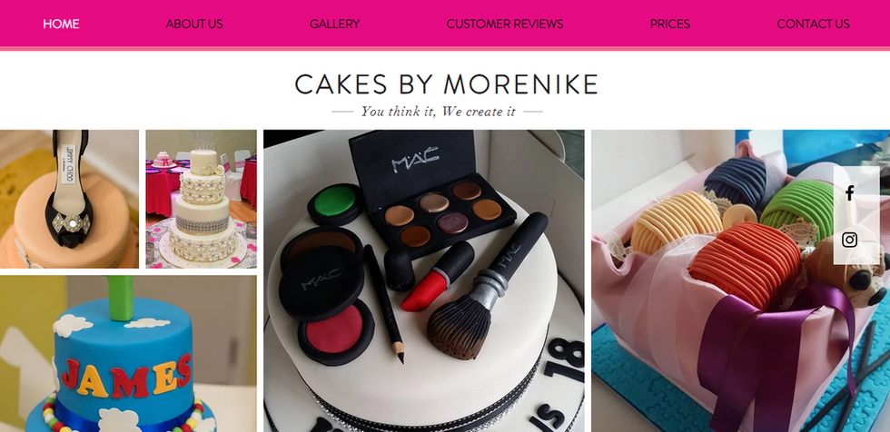 www.cakesbymorenike.co.uk