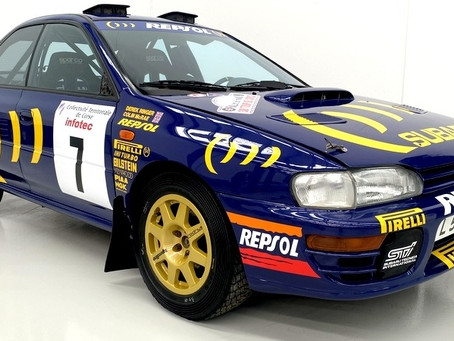 """""""Needle in a Haystack"""". Rally car found in barn sells for half a million dollars"""