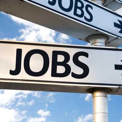 Unemployment falls below 5%