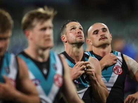 Reality bites for Port Adelaide finals failure