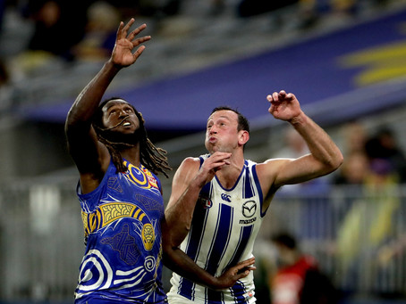 Eagles a mess as Kangaroos snare shock win