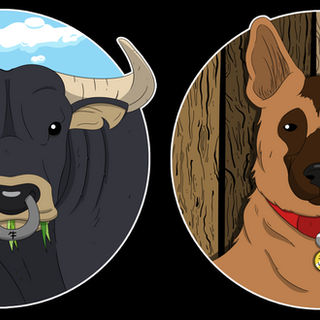 Ox and Dog