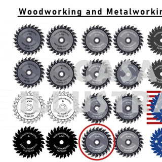 Woodworking and Metalworking Supplies: Logo Designs