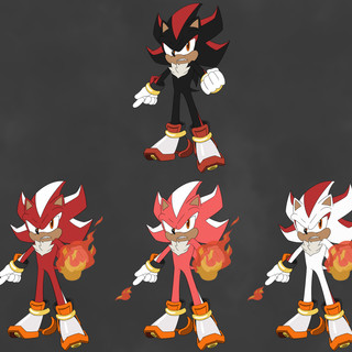 Fire Shadow Concept Art