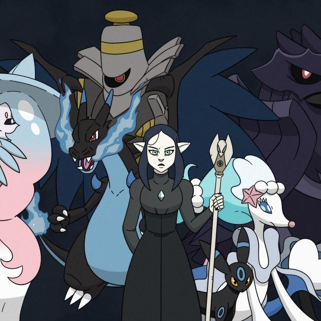 Lilith Clawthorne's Pokemon Team