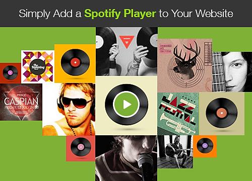 Spotify Player Overview   WIX App Market   Wix com