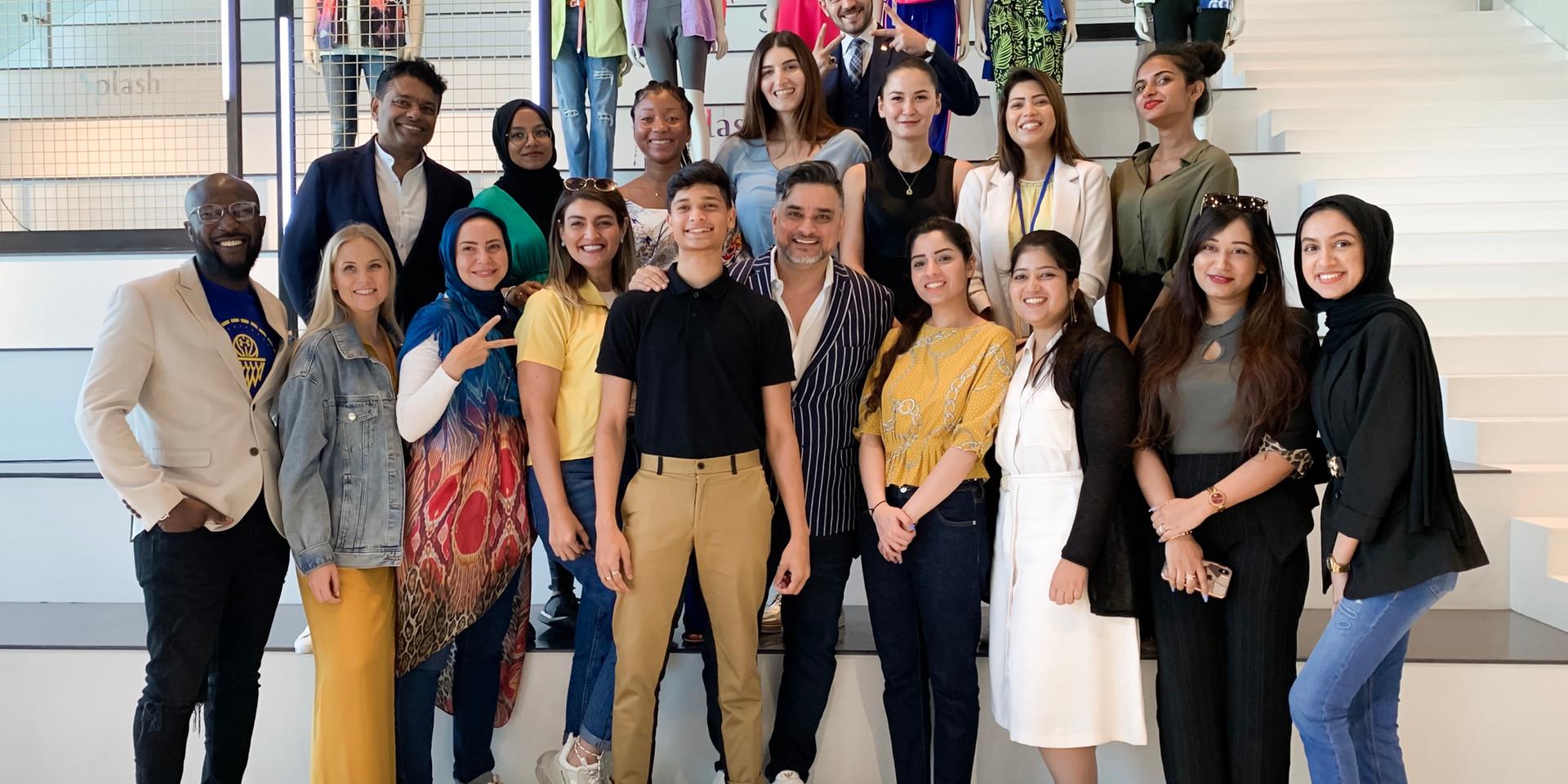 Industry Visit to Landmark Group