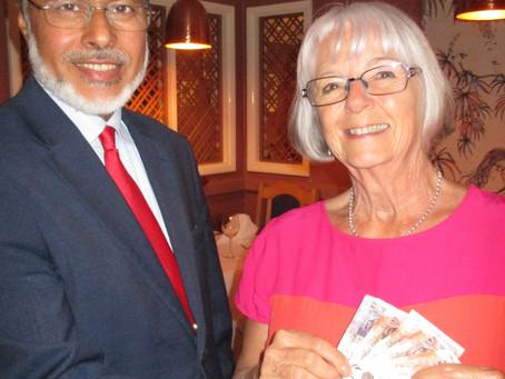 Charity quiz raises cash