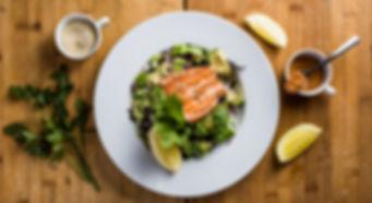 Salmon Sushi Salad