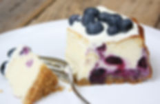 baked-blueberry-and-vanilla-cheesecake-1