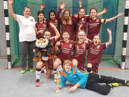 Hallen-Kreismeisterinnen 2019!