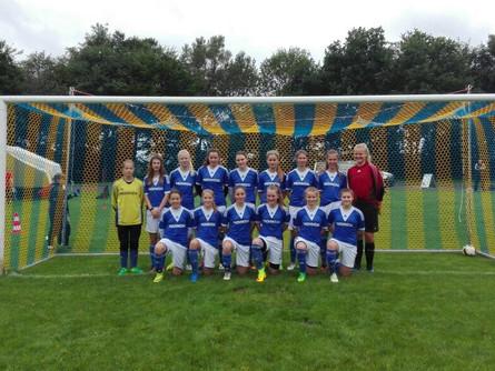 TSV Mädels gewinnen mit dem Stützpunktteam aus Lübeck das Stützpunktturnier