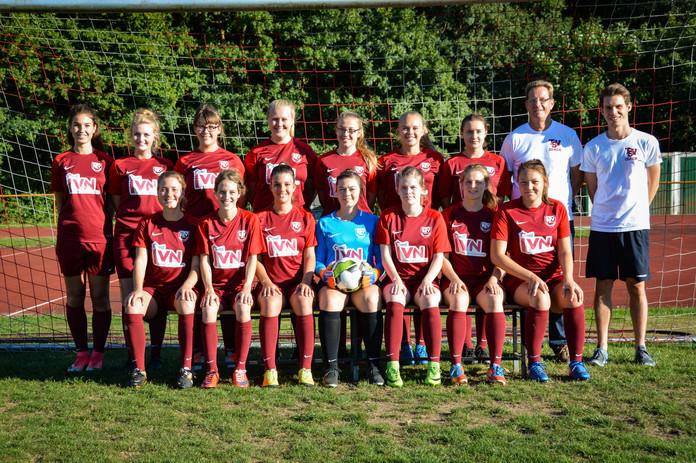 Offizielles Mannschaftsbild - TSV Bargteheide Damen 2018/19