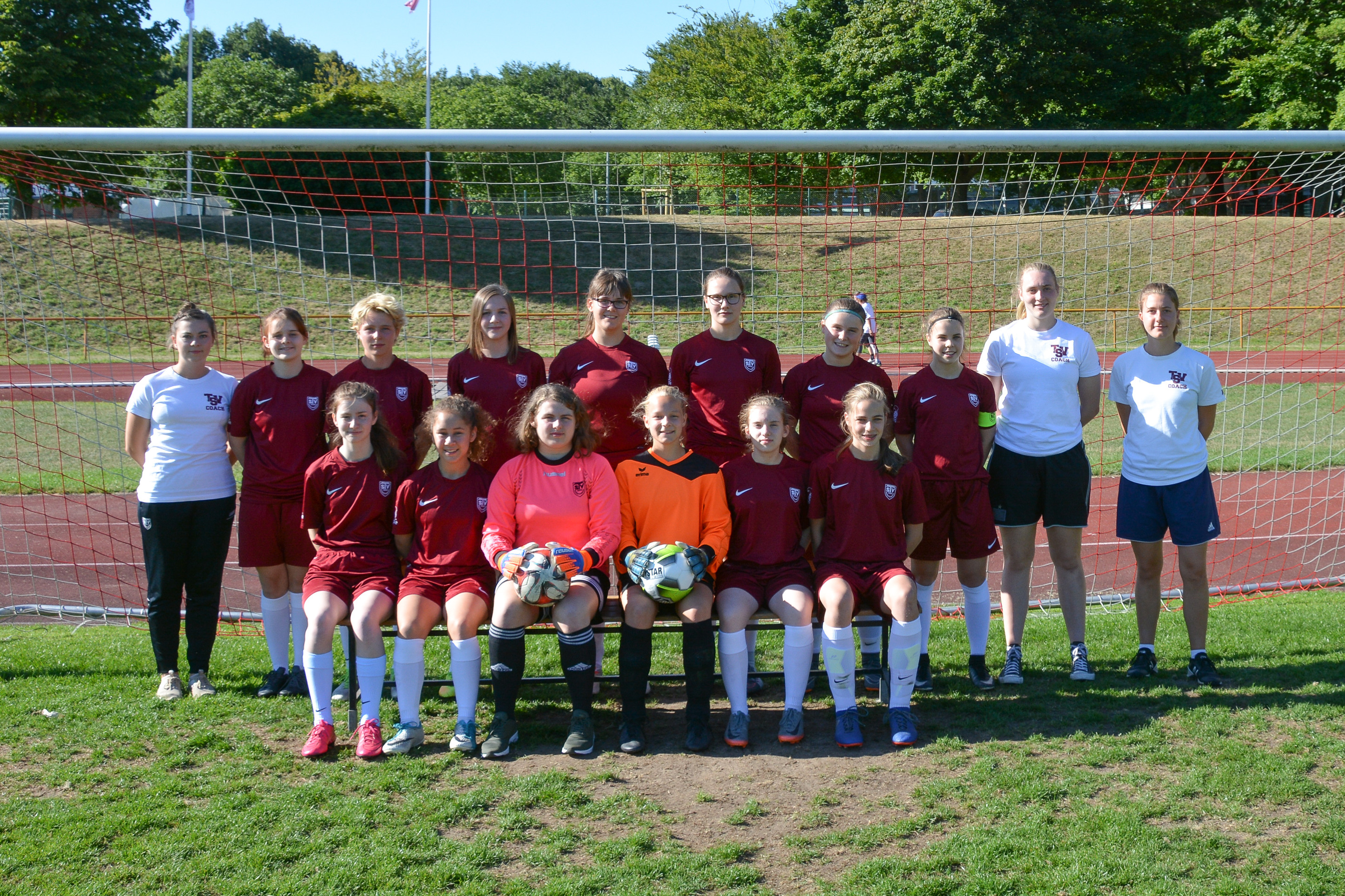 Offizielles Mannschaftsbild - TSV Bargteheide B-Juniorinnen 2018/19