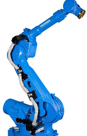 Industrial press handling robot