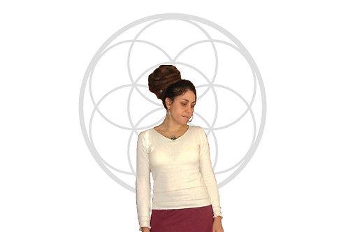 The Chailyn top - Organic Cotton and Hemp long sleeve shirt