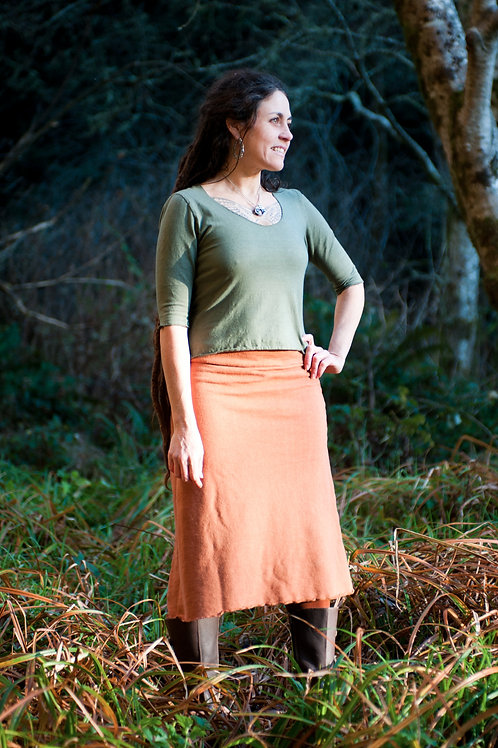 Organic skirts. hemp clothing, handmade, eco fashion, sustainable, ethically made