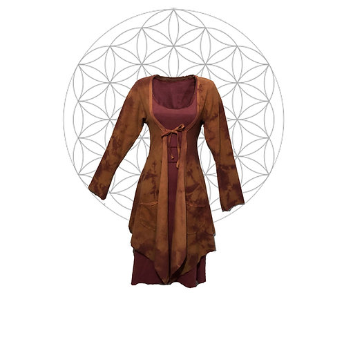 Organic Cotton and Hemp Terry cardigan Limited edition - two available