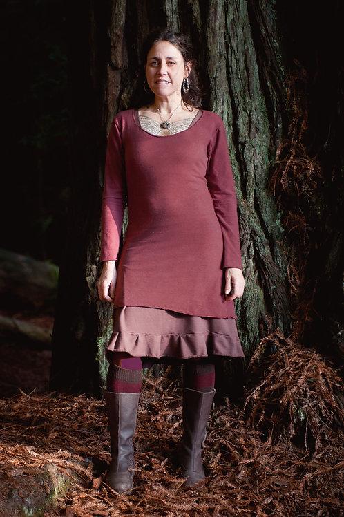 Thia Long sleeve tunic dress