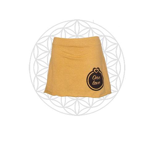 One Love Mini/layering skirt- Organic Cotton and Hemp