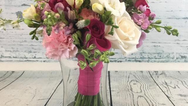 Petite Bride or Regular Bride's Maid Bouquet