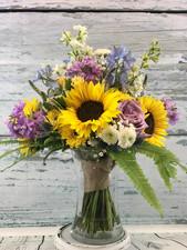 Sunflower Bride Bouquet