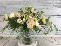 Oblong Hand Tied Bouquet