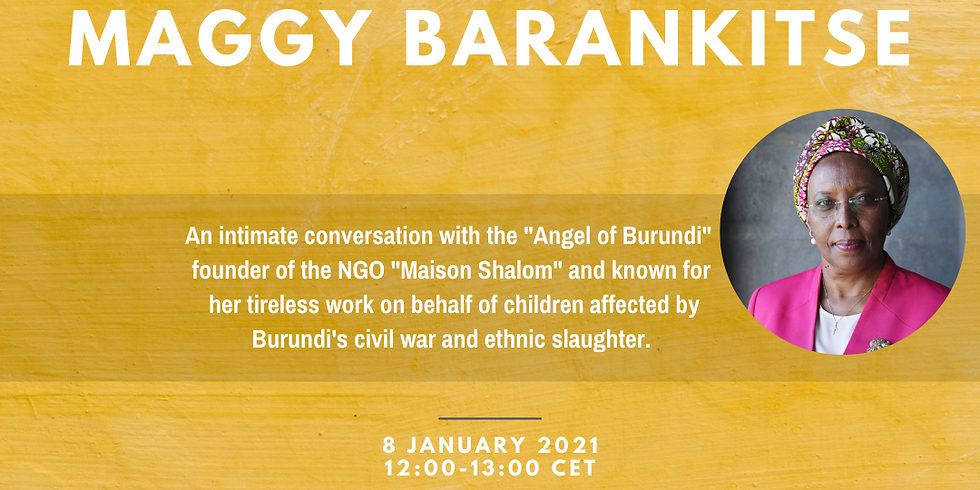A conversation with Maggy Barankitse