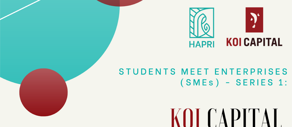 Students Meet Enterprises (SMEs) - SERIES 1: Koi Capital - Investment Opp. in the Age of COVID-19