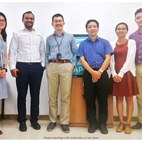 Collaboration between ASSIST Asia and HAPRI - Hợp tác giữa ASSIST Asia và HAPRI