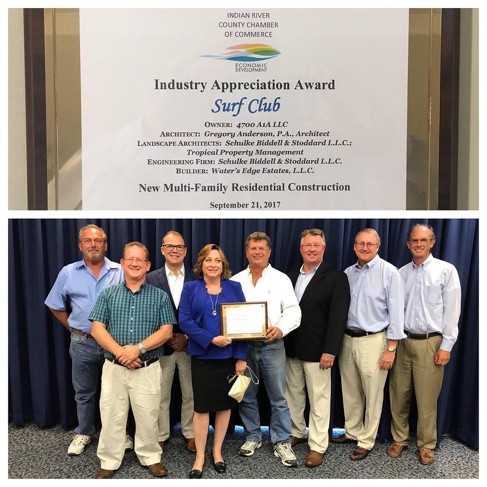 Schulke Bittle & Stoddard receive Industry Appreciation Award