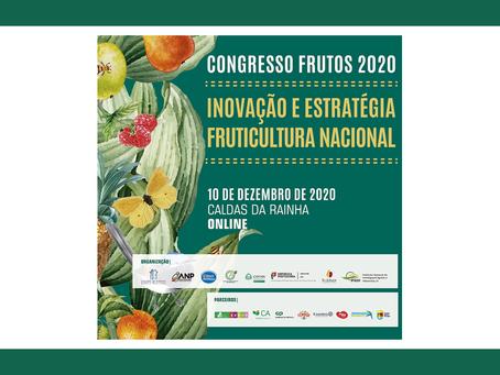 Participação no Congresso dos frutos 2020